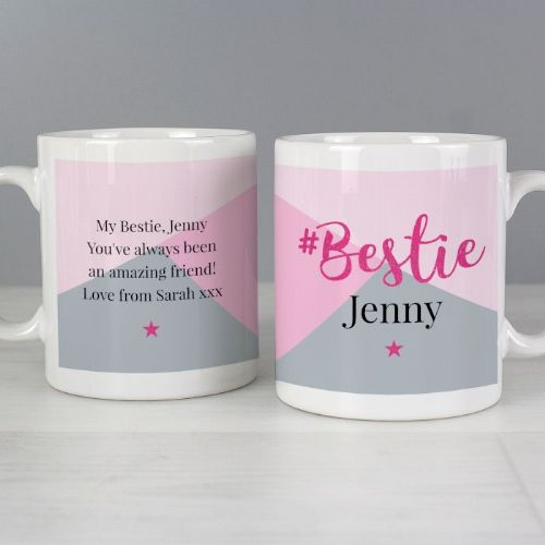 Personalised #Bestie Mug